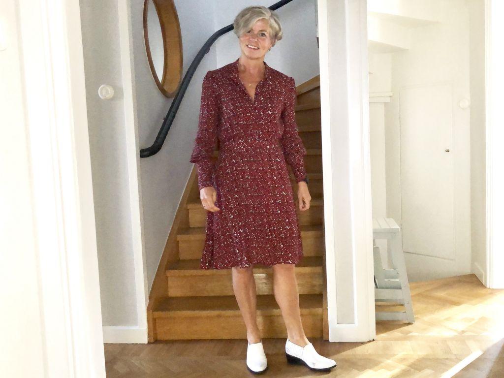 Dress with a pattern #whydontyou