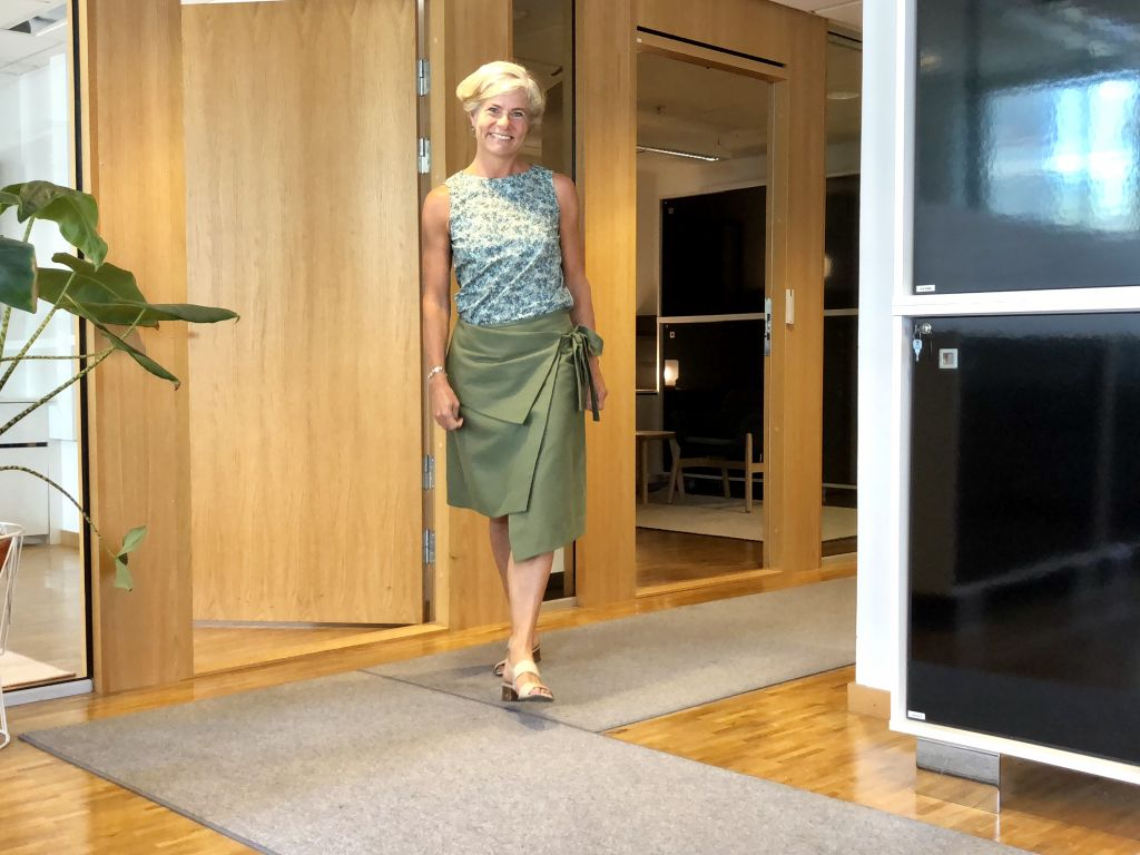 Assymetrical skirt #whydontyou