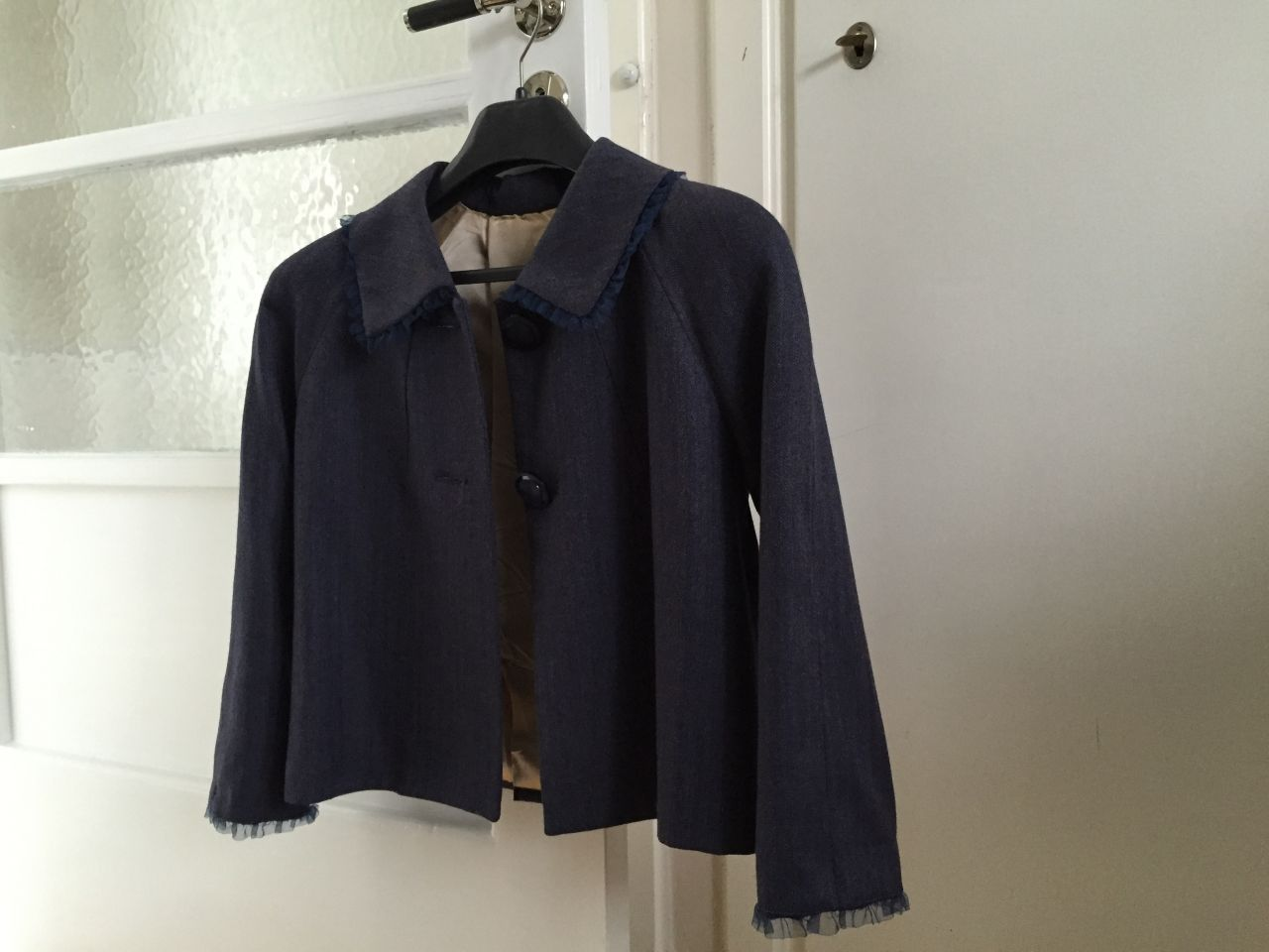 Blue jacket #whydontyou