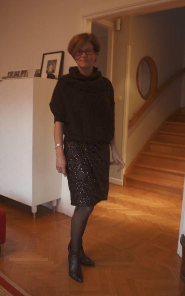Glittery skirt 2 Dec 2014