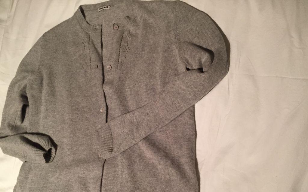 Grey cashmere cardigan #whydontyou