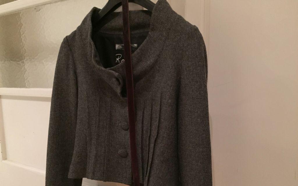 Grey dress jacket #whydontyou