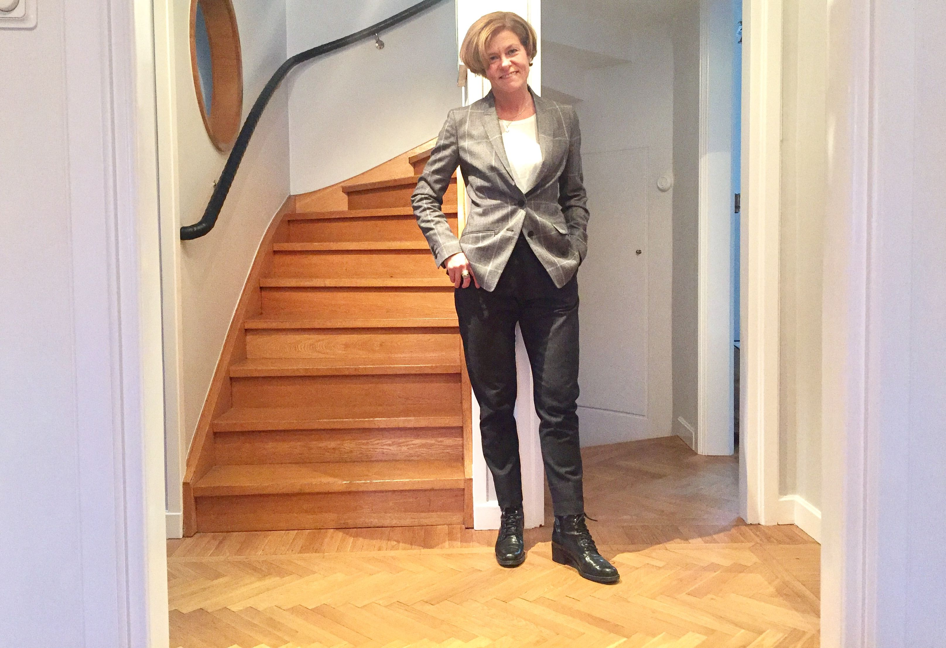 Classic well dressed checked Blazer #whydontyou