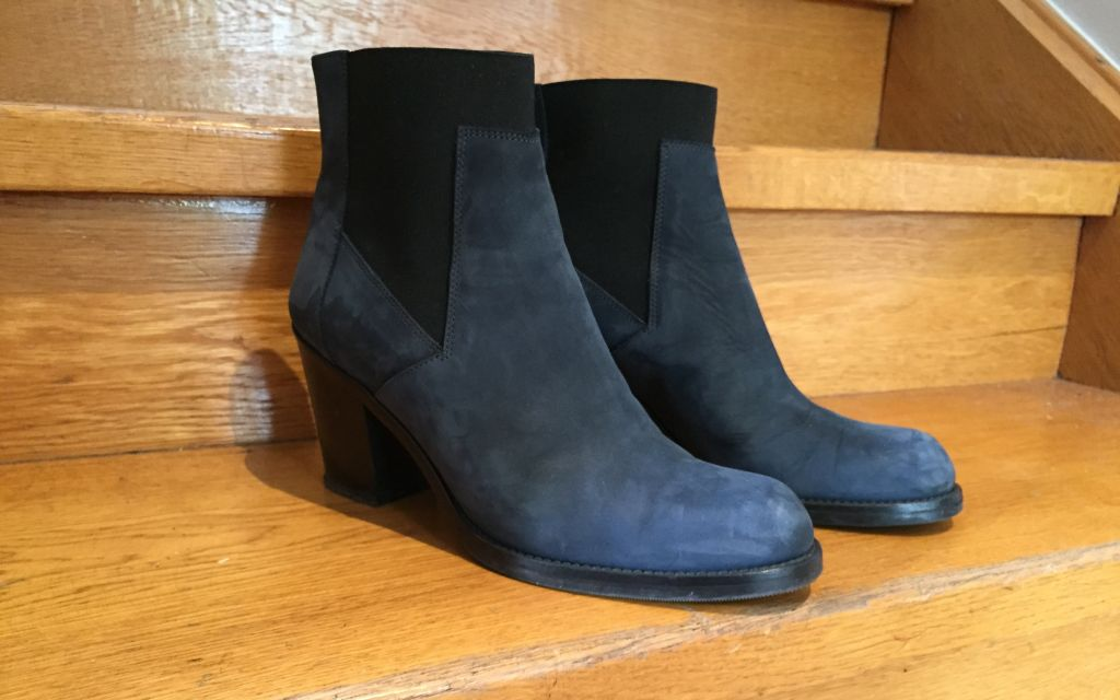 blue ankle boots #whydontyou