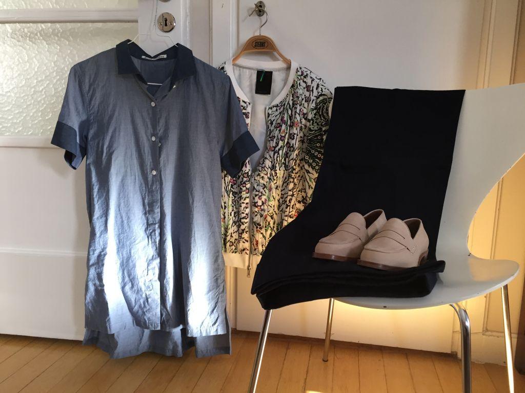 short sleeved chambray shirt Acne #whydontyou