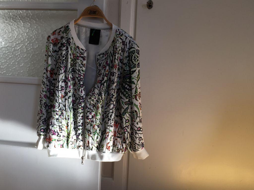 Bomber jacket/blouse #whydontyou