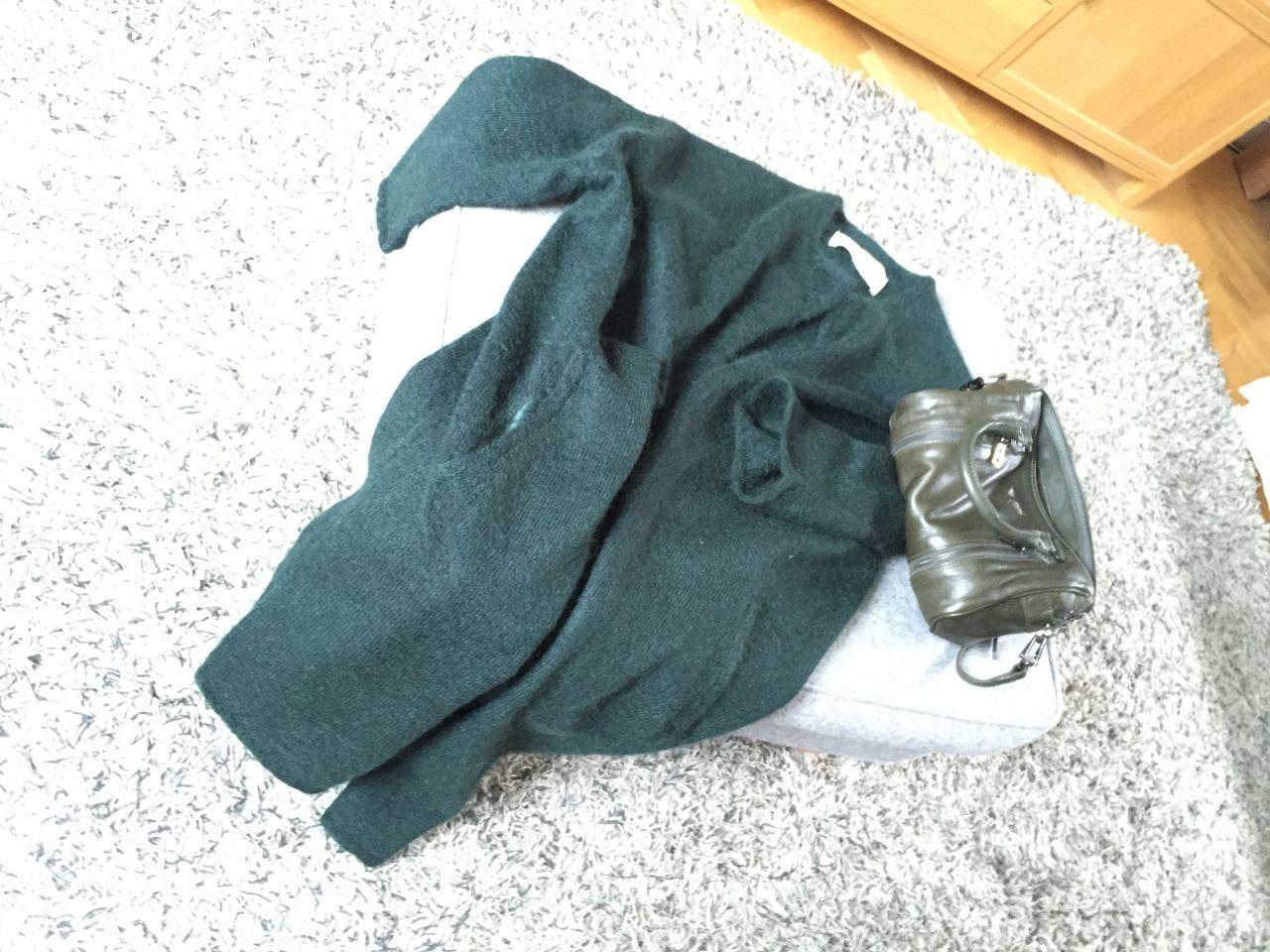 Green cardigan #whydontyou