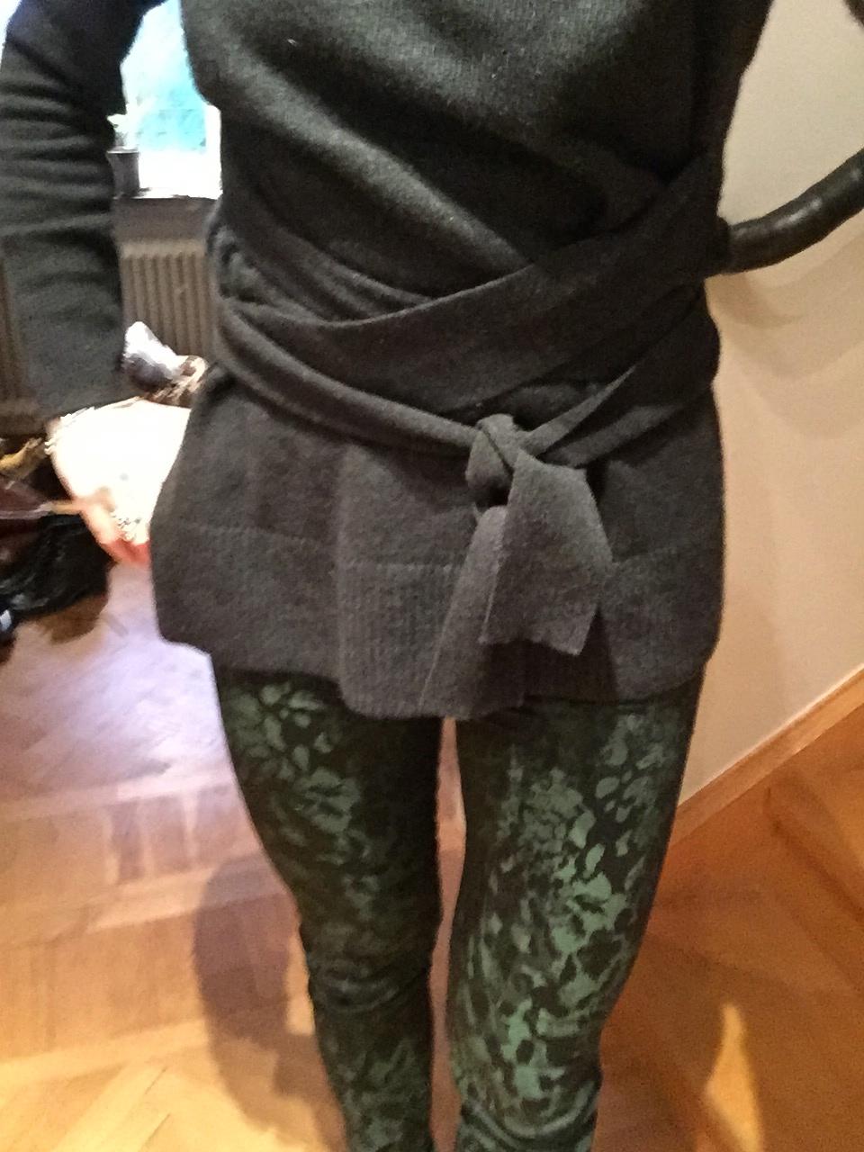 a tie waist sweater #whydontyou
