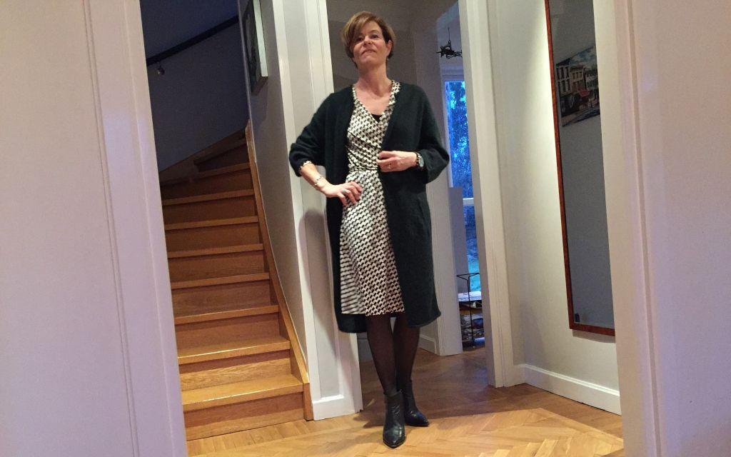 Wrap dress for winter #whydontyou