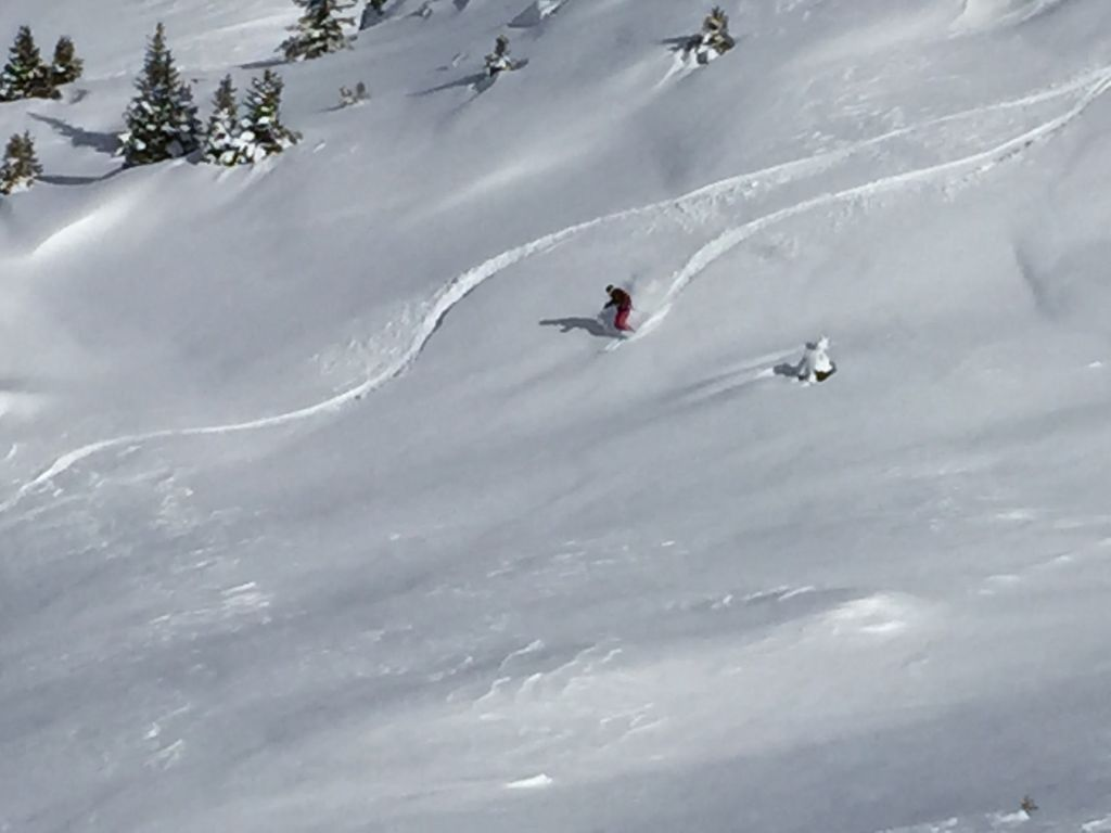 Skiing Lenzerheide #whydontyou