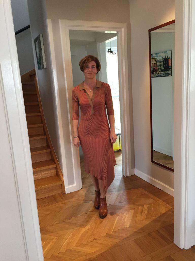 ribbed knit dress #dagmar #whydontyou